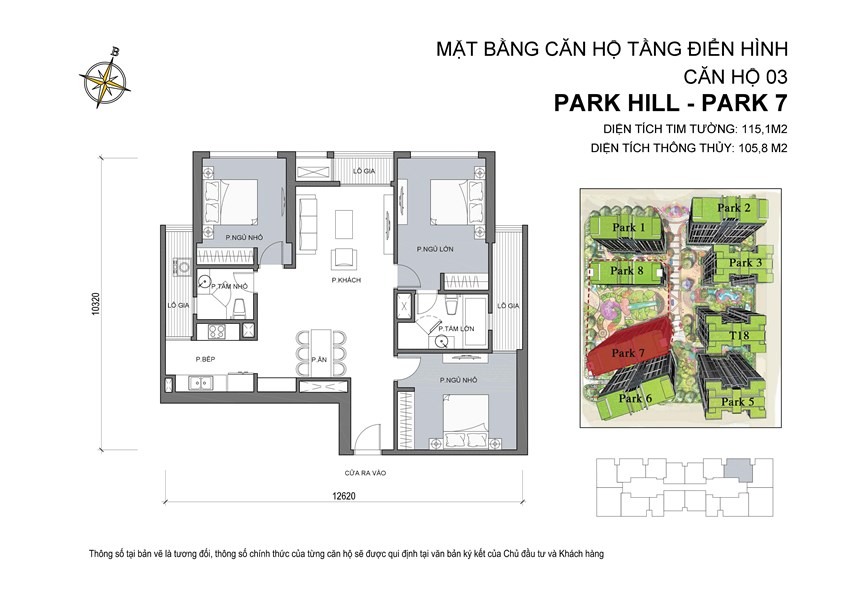 03 Mat bang can ho so 03 Park 7