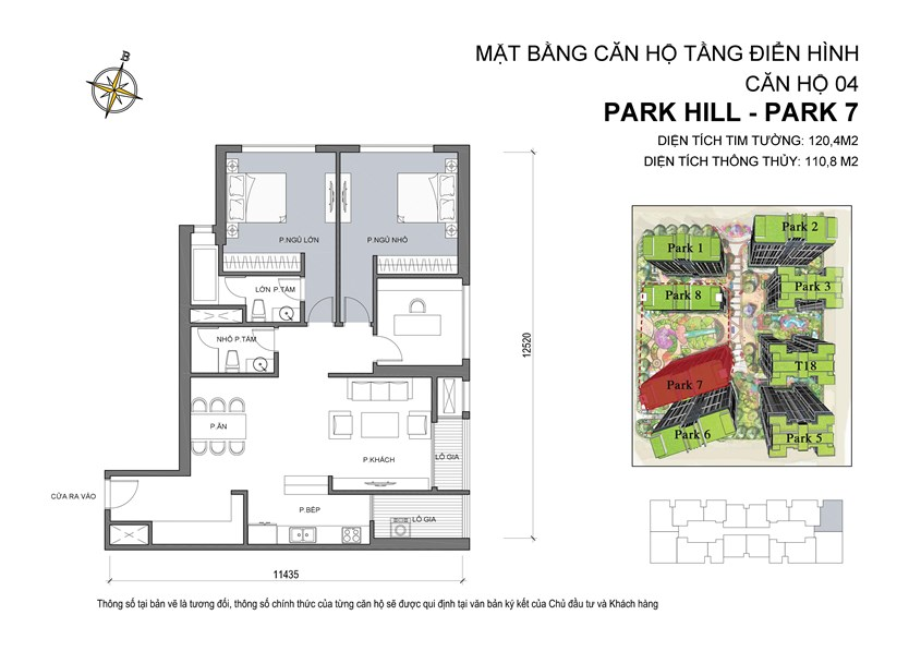 04 Mat bang can ho so 04 Park 7