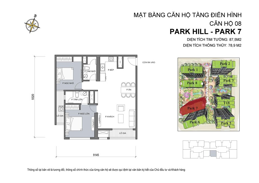 08 Mat bang can ho so 08 Park 7