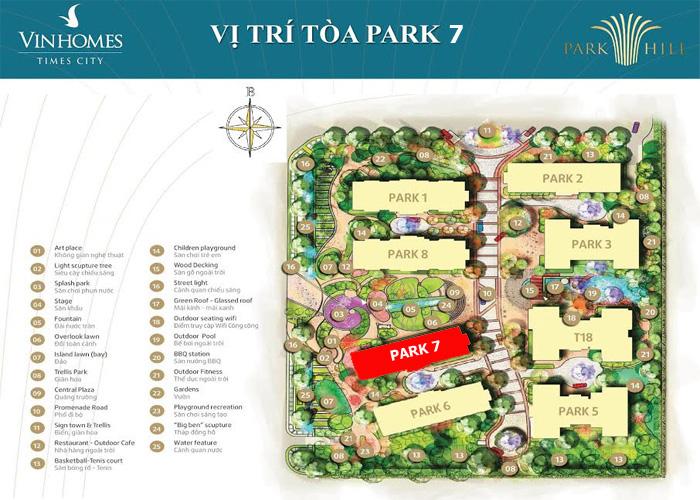 Vị trí Park 7