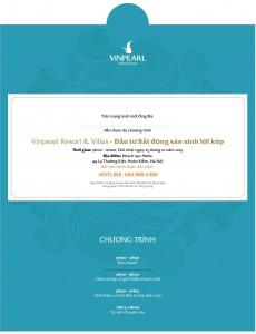 25/10/2015: Vinpearl Resort & Villas: Đầu tư bất động sản sinh lời kép