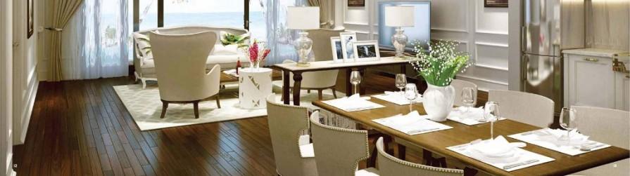 Nội thất sang trọng của Biệt thự Vinpearl Golf Land Resort & Villas