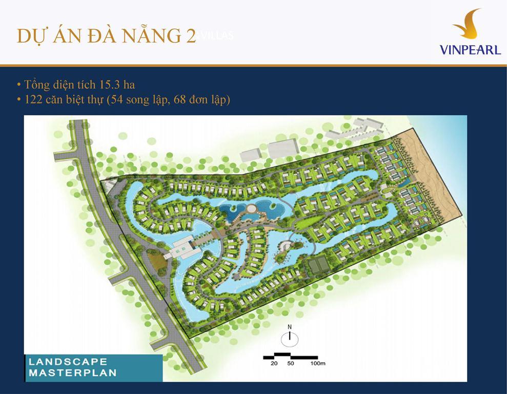 Mặt bằng Vinpearl Đà Nẵng Villas 2
