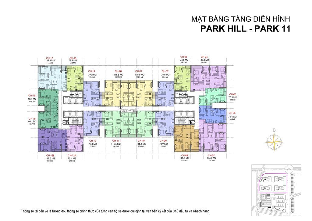 mat bang park 11 park hill premium