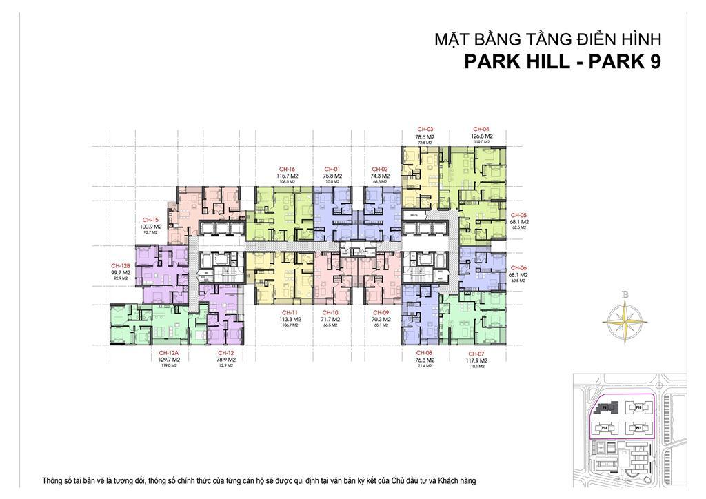 mat bang park 9 park hill premium