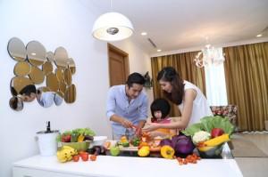 VinEco Vingroup tặng rau sạch cho cư dân Vinhomes