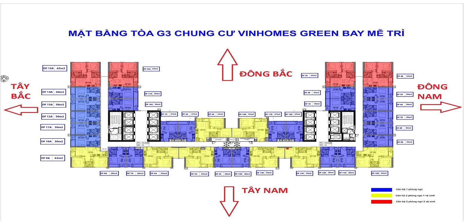 Mat bang G3 Greenbay